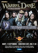 Warrel Dane (Nevermore, Sanctuary) canta la Hard Rock Cafe pe 13 septembrie
