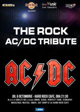 TRIBUT AC/DC cu THE ROCK pe 6 octombrie la Hard Rock Cafe