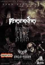 BERSERKERS si NEGATIVE CORE PROJECT concerteaza in Club A