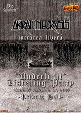 Prima auditie a noului album Akral Necrosis va avea loc in Private Hell la sfarsitul lunii
