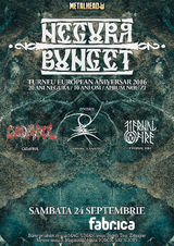 Negura Bunget lanseaza albumul 'ZI' pe 24 Septembrie, in club Fabrica