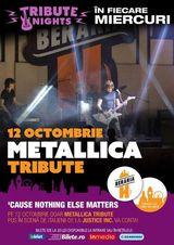 Concert tribut Metallica cu italienii de la Justice Inc.