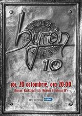 Concert aniversar byron 10 ani la Brasov, in Rockstadt