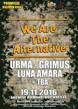We Are The Alternative va avea loc pe 19 noiembrie la Arenele Romane