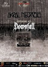 Akral Necrosis si Downfall concerteaza la Cluj in Hard Club
