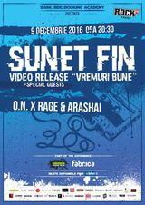 Sunet Fin   Video Release 'Vremuri bune'   Special Guests: O.N. x Rage & Arashai