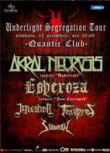 Akral Necrosis lanseaza albumul 'Underlight' in Club Quantic in cadrul unui eveniment special
