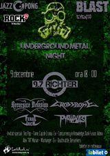 Underground Metal Night are loc pe 9 decembrie in Jazz Pong
