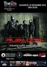Concert Rublood - industrial gothic metal italian la Bucuresti