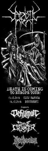 Concert Sadistic Intent, Dehuman si Rotheads in Club Quantic pe 16 decembrie
