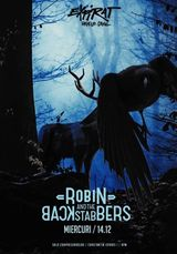Concert Robin and the Backstabbers pe 14 decembrie la Expirat Halele Carol
