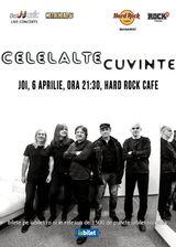 Concert Celelalte Cuvinte pe 6 aprilie la Hard Rock Cafe