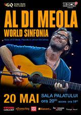 Concert Al Di Meola la Sala Palatului