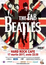 Cel mai bun tribut Beatles desemnat de BBC concerteaza pe 17 martie la Hard Rock Cafe!