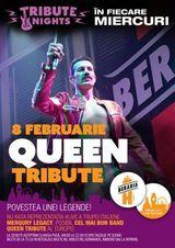 QUEEN tribute cu MERQURY LEGACY pe 8 februarie la Beraria H