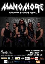 Concert tribut Manowar cu Manomore la Timisoara pe 20 ianuarie