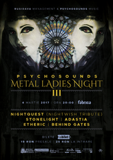 Psychosounds Metal Ladies Night III pe 4 martie la Fabrica
