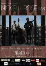 Americanii Nickel & Rose concerteaza la Timisoara