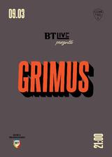 Concert Grimus pe 9 martie in Club Control