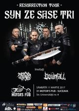 Syn Ze Sase Tri concerteaza pentru prima data la Suceava