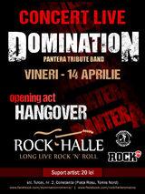 Concert Domination (Tribut Pantera) Live la Rock Halle Constanta