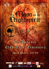 Concert Irfan si The Moon And The Nightspirit la Timisoara