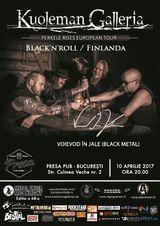 Black'n'roll finlandez cu Kuoleman Galleria pe 10 aprilie, la Bucuresti