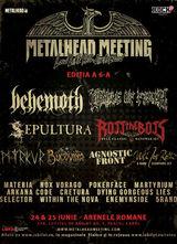 METALHEAD Meeting 2017: 24 si 25 iunie la Arenele Romane din Bucuresti