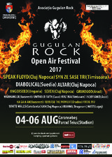 Festivalul Gugulan Rock va avea loc in perioada 4-6 august