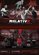 Relative lanseaza albumul Positive la Timisoara