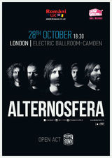 Alternosfera la Electric Ballroom-Camden Town in Londra pe 28 Octombrie