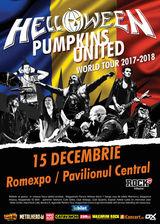 Concert Helloween pe 15 Decembrie in Bucuresti la Romexpo