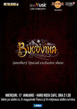 Bucovina special exclusive show la Hard Rock Cafe pe 17 Ianuarie