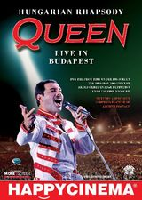 'Queen  Hungarian Rhapsody: Live In Budapest 1986' se vede la Happy Cinema Bucuresti