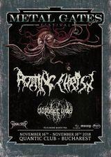 Metal Gates Festival 2018 va avea loc in perioada 16 - 18 Noiembrie in Quantic