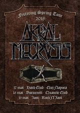 Akral Necrosis pregateste un turneu-fulger cu destinatia Rock'n'Iasi