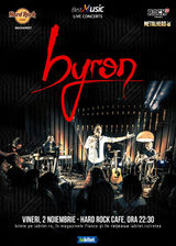 Concert Byron in Hard Rock Cafe!