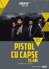 Concert Acustic Pistol cu Capse in Expirat din Bucuresti pe 20 noiembrie