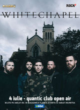 Whitechapel in premiera in Romania pe 4 Iulie in Quantic
