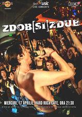 Concert Zdob si Zdub pe 17 Aprilie la Hard Rock Cafe