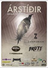 Arstidir, Zammorian si Brute in Quantic pe 11 Februarie