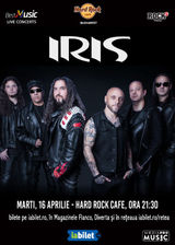 Concert IRIS: Lumea toata e un circ pe 16 Aprilie la Hard Rock Cafe