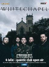Whitechapel in premiera in Romania pe 4 Iulie in Quantic