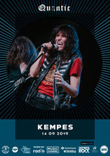 Kempes canta pe 14 septembrie in Club Quantic