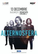 Concert Alternosfera - Postscriptum din Babel - pe 13 Decembrie la Romexpo