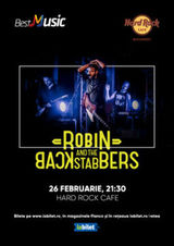 Concert Robin And The Backstabbers pe 26 februarie 2020