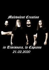 Malevolent Creation canta pe 21 februarie in Club Capcana