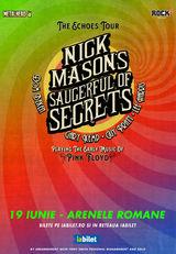 Nick Mason's (Pink Floyd) Saucerful Of Secrets la Arenele Romane pe 16 Iunie 2021