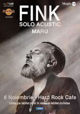 Concert FINK la Hard Rock Cafe pe 6 Noiembrie
