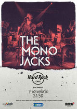 Concert The Mono Jacks pe 7 octombrie